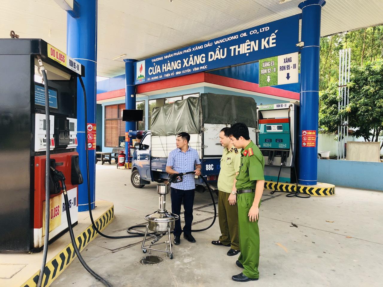Một số quy định mới về xử phạt vi phạm hành chính trong kinh doanh xăng dầu